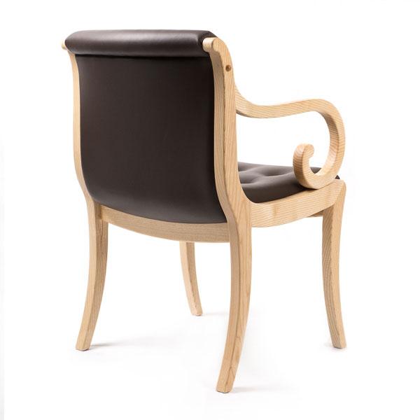 stuhlsessel london mit polsterr cken m belwerkst tte h rsch. Black Bedroom Furniture Sets. Home Design Ideas